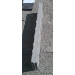 Obrzeże betonowe - krawężnik ogrodowy 6x20x100cm