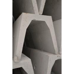 Korytko ściekowe żelbetowe (zbrojone) KS74/II
