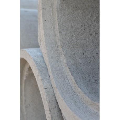 Rura betonowa ze stopką 500x1000mm z otworem