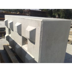 Betonowy element muru 160x80x60cm