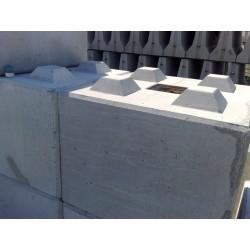 Betonowy element muru 80x80x60cm