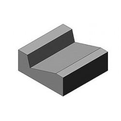 Korytko ściekowe trójkątne 50x50x20cm