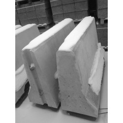 BPP-2 przestawna jednostronna L1m - bariera betonowa
