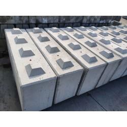 Betonowy element muru 160x40x60 - blok betonowy