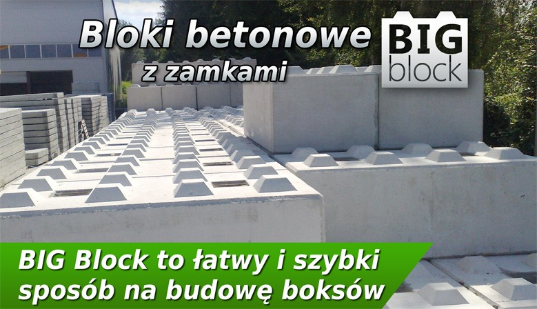 Bloki betonowe Big Block